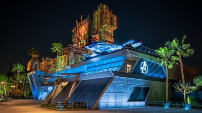 Avengers Campus, opening June 4, 2021, at Disney California Adventure Park in Anaheim, California, will invite guests of all ages into a new land where they will sling webs on the first Disney ride-through attraction to feature Spider-Man. The immersive land also presents multiple heroic encounters with Avengers and their allies, like Iron Man, Black Panther, Black Widow and more.