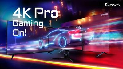 ¡Empiezan los videojuegos 4K profesionales! Lanzamiento de los monitores para videojuegos tácticos GIGABYTE AORUS 4K