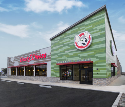 CHUCK E. CHEESE EXPANDS GLOBAL FOOTPRINT INTO EUROPE