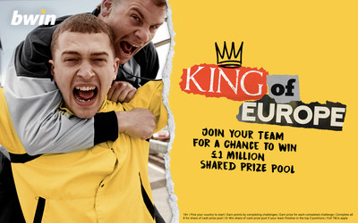 """bwin campaign for the """"King of Europe"""" fan tournament"""