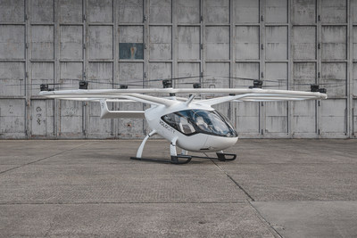 Volocopter's VoloCity electric air taxi aircraft ©Volocopter