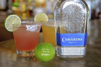 """Camarena, el tequila más galardonado, está facilitando a los consumidores a regresar a la escena de las citas al ayudar a los solteros a enviar a sus amores platónicos ingeniosas """"Pickup Limes"""" y la oportunidad de tener una ronda de tacos en su primera cita (PRNewsfoto/Camarena Tequila)"""