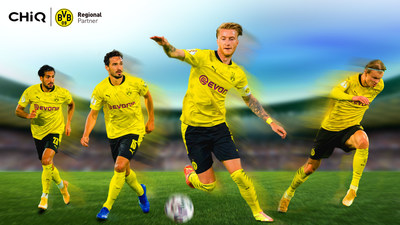 CHiQ official partner of Boruissa Dortmund(BVB)