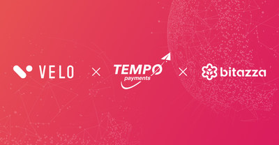 Velo Labs, TEMPO Payments, and Bitazza open up a $17Bn remittance corridor